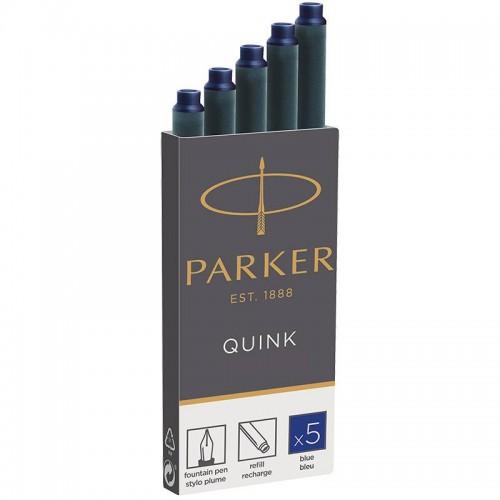 Синие картриджи Parker (Паркер) Quink Cartridges Blue 5шт в Уфе
