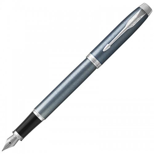 Перьевая ручка Parker (Паркер) IM Core Light Blue Grey CT F в Уфе