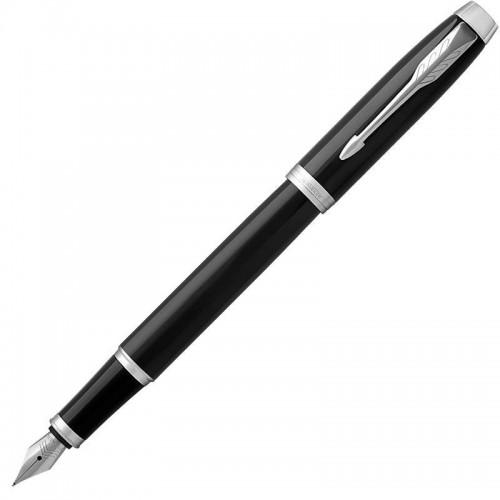 Перьевая ручка Parker (Паркер) IM Core Black Chrome CT F в Уфе