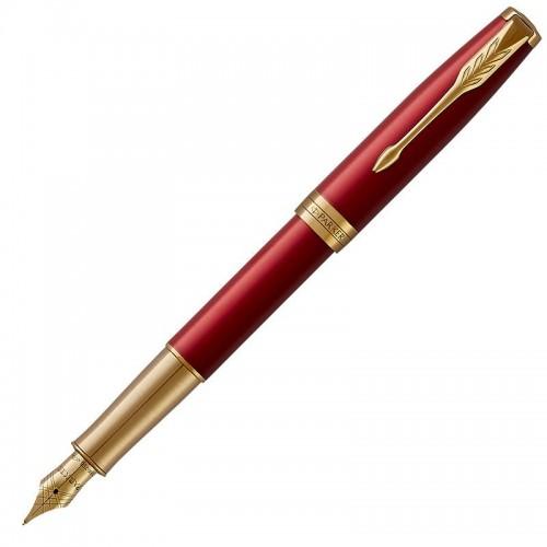 Перьевая ручка Parker (Паркер) Sonnet Core Red Lacquer GT F 18k в Уфе