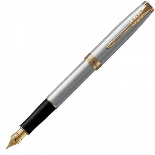 Перьевая ручка Parker (Паркер) Sonnet Core Stainless Steel GT в Уфе