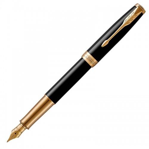 Перьевая ручка Parker (Паркер) Sonnet Core Black Lacquer GT F в Уфе