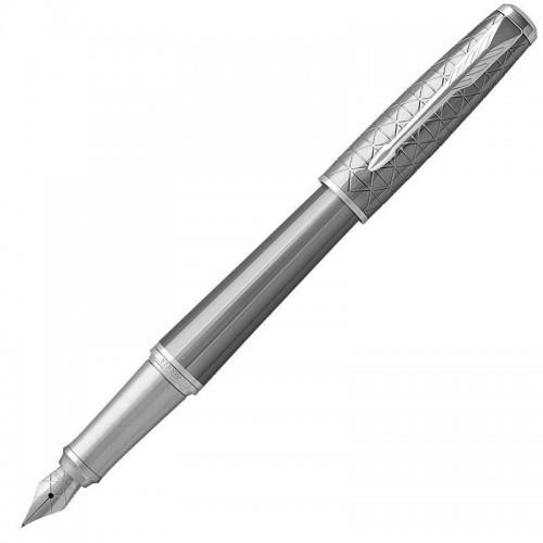 Перьевая ручка Parker (Паркер) Urban Premium Silvered Powder CT F в Уфе