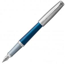 Перьевая ручка Parker (Паркер) Urban Premium Dark Blue CT F