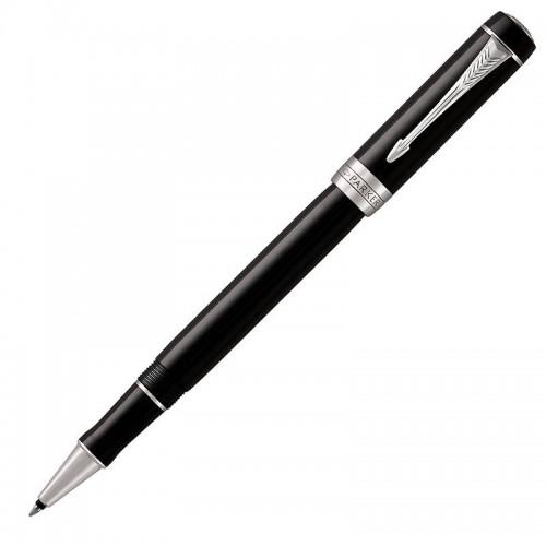 Ручка-роллер Parker (Паркер) Duofold Classic Black CT в Уфе
