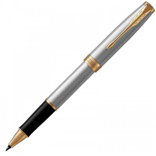 Ручка-роллер Parker (Паркер) Sonnet Core Stainless Steel GT в Уфе