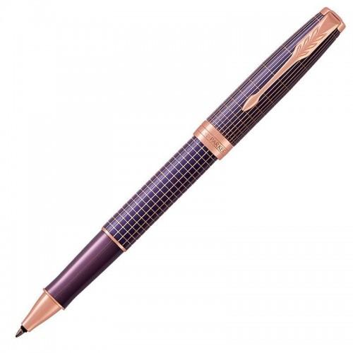 Ручка-роллер Parker (Паркер) Sonnet Luxury Cisele Purple Matrix PGT в Уфе