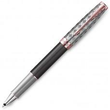 Ручка-роллер Parker (Паркер) Sonnet Premium Metal Grey PGT
