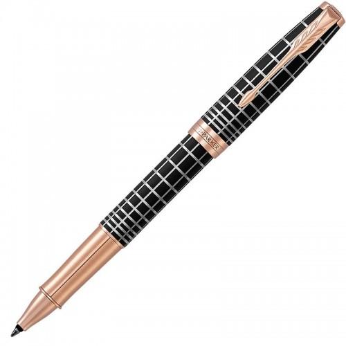 Ручка-роллер Parker (Паркер) Sonnet Premium Brown Rubber PGT в Уфе