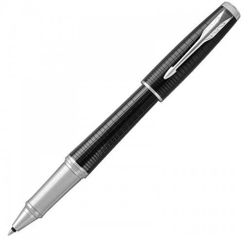 Ручка-роллер Parker (Паркер) Urban Premium Ebony Metal Chiselled CT в Уфе