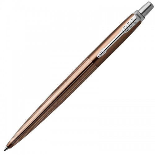 Шариковая ручка Parker (Паркер) Jotter Premium Carlisle Brown Pinstripe CT в Уфе