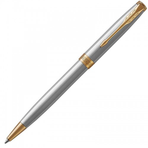 Шариковая ручка Parker (Паркер) Sonnet Core Stainless Steel GT в Уфе