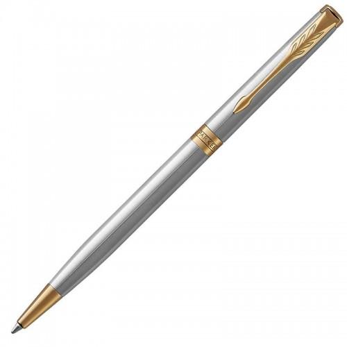 Шариковая ручка Parker (Паркер) Sonnet Core Slim Stainless Steel GT в Уфе