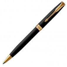 Шариковая ручка Parker (Паркер) Sonnet Core Matte Black Lacquer GT