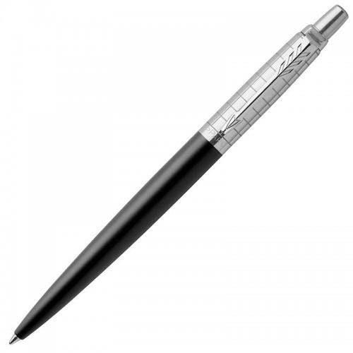 Шариковая ручка Parker (Паркер) Jotter Premium Bond Street Black Grid CT в Уфе
