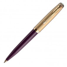 Шариковая ручка Parker (Паркер) 51 Premium Plum GT M