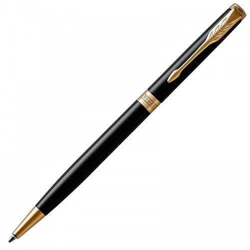 Шариковая ручка Parker (Паркер) Sonnet Core Slim Black Lacquer GT в Уфе