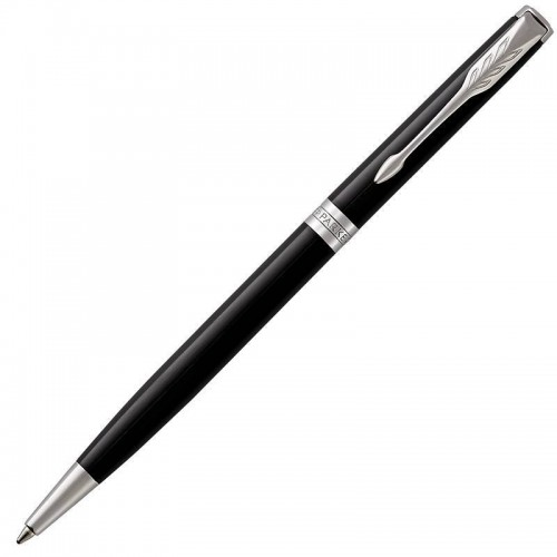 Шариковая ручка Parker (Паркер) Sonnet Core Slim Black Lacquer CT в Уфе