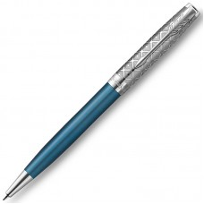 Шариковая ручка Parker (Паркер) Sonnet Premium Metal Blue CT
