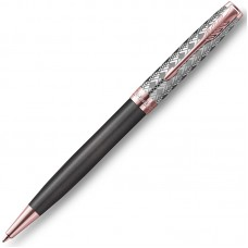 Шариковая ручка Parker (Паркер) Sonnet Premium Metal Grey PGT