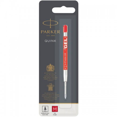 Красный гелевый стержень Parker (Паркер) Gel Pen Refill M в Уфе