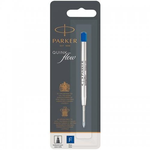 Синий шариковый стержень Parker (Паркер) Ball Pen Refill QuinkFlow Premium F Blue в Уфе