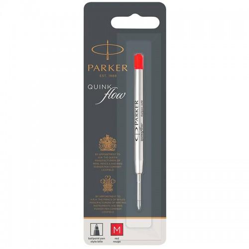 Красный шариковый стержень Parker (Паркер) Ball Pen Refill QuinkFlow Premium M Red в Уфе